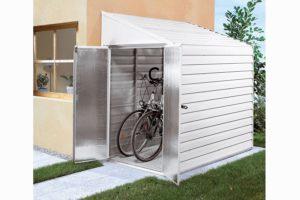 Pergart Fahrradbox Münster 47 altweiß
