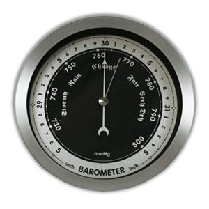 Ambient Weather WS-152B 6 Contemporary Barometer