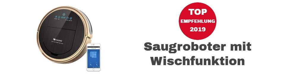 Saugroboter mit Wischfunktion Empfehlung