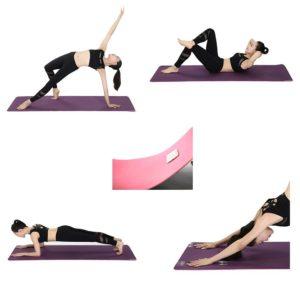 Die verschiedenen Anwendungsbereiche aus einem Yogamatte Testvergleich