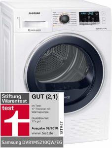 Die aktuell besten Produkte aus einem Wäschetrockner Test im Überblick