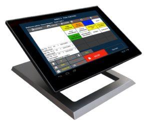 Arten der 13,3 Kassensystem für GASTRONOMIE (Restaurand, Biergarten usw.) Touchscreen Terminal, Bondrucker kaufen