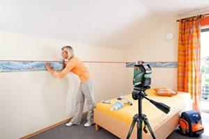 Mit Bosch Linienlaser Bilder aufhängen