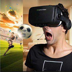 3D Vr-Brille mit Kopfhörer