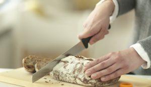 Das Brotmesser von Fiskars