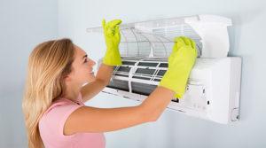 Selber Split Klimaanlage im haus reinigen und dezinfizieren