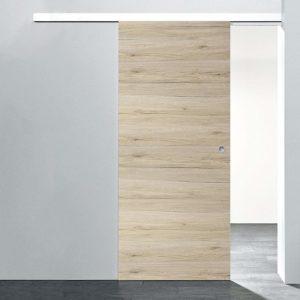 Die Holzschiebetür