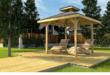 Holzpavillon selber bauen