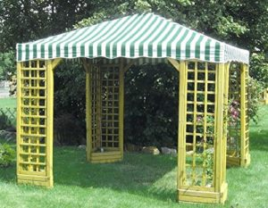 Der Holzpavillon von Viti Cella