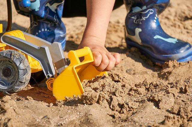 Sandkasten Test