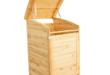 Mülltonnenbox aus Holz selber bauen