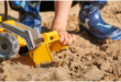 Wo kann den Sandkastensand entsorgen?