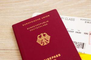 Personalausweis für Touristenvisum notwendig