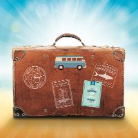 Der Reisekoffer für die besste Checkliste