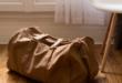 Reisetasche für die Urlaubs Checkliste