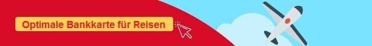 Bankkarte Reisen Packliste